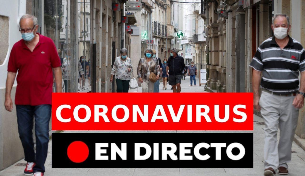 Coronavirus en España hoy: Rebrotes, casos y noticias de la vacuna del coronavirus, última hora en directo