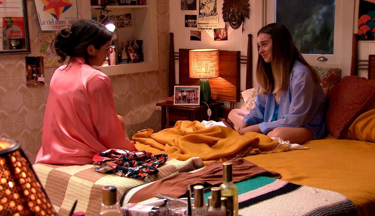 Luisita y Amelia sueñan con emoción cómo sería su vida con un hijo