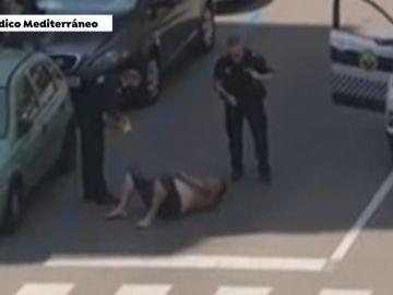Peligrosa detención en Vinaroz