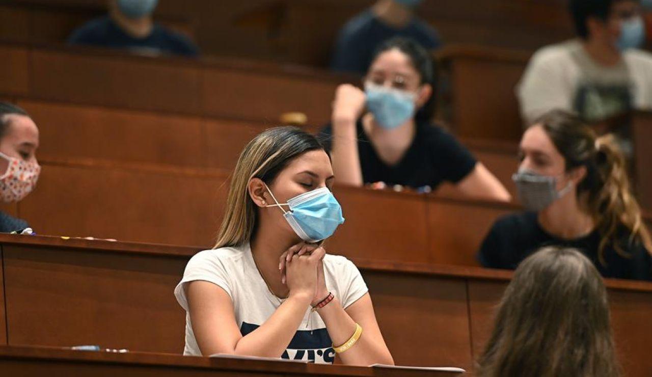 EBAU en Madrid, con mascarilla por el coronavirus