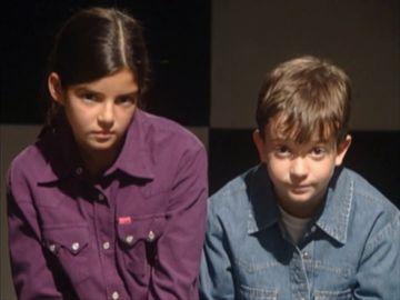 Clara Lago y Daniel Retuerta en 'Compañeros'