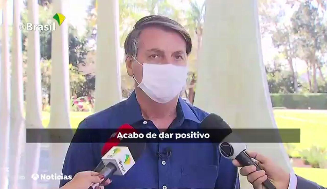 Jair Bolsonaro, presidente de Brasil, da positivo en coronavirus