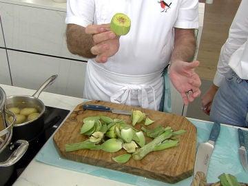 ¿Cómo limpiar las alcachofas? ¡Karlos Arguiñano nos lo enseña!