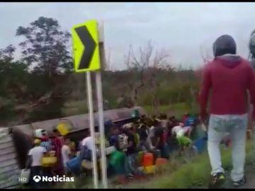 Explosión camión cisterna Colombia