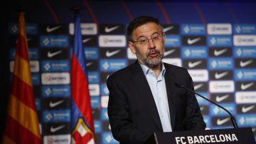 """Bartomeu insiste contra el VAR: """"En las últimas jornadas ha beneficiado a un equipo"""""""