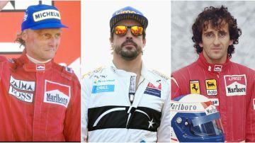 Niki Lauda y Alain Prost, los ejemplos de Fernando Alonso en su segunda etapa en Fórmula 1