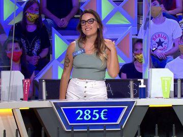 El panel de Victor Frankl: la única alegría de Clara en 'La ruleta de la suerte'
