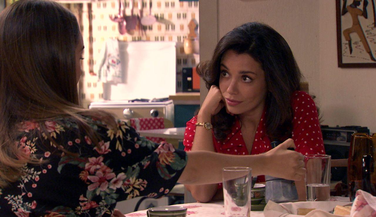 Amelia, celosa e inquieta ante la sorprendente propuesta de Luisita para tener un hijo