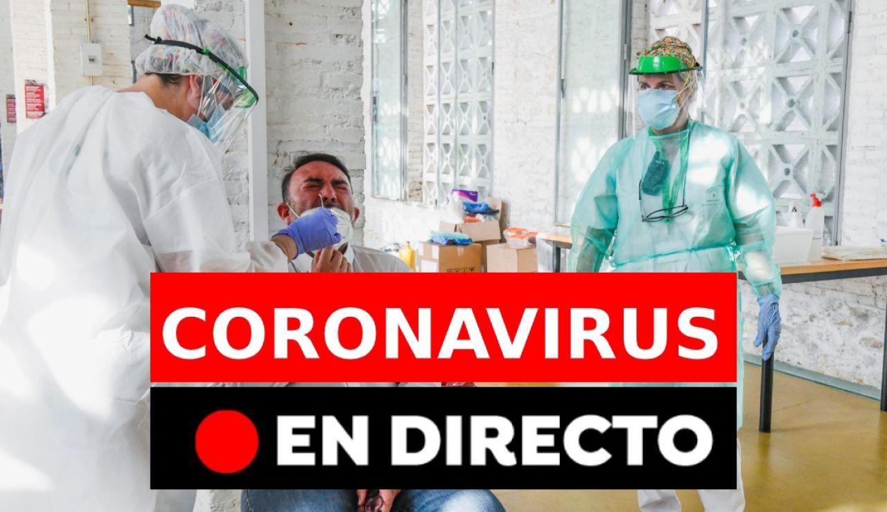 Coronavirus España: Rebrotes, noticias, casos y muertos de COVID-19, última hora en directo