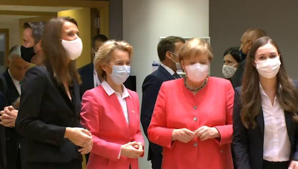 Angela Merkel, clave en la intrahistoria del Consejo Europeo que dio luz verde a 750.000 millones contra el coronavirus