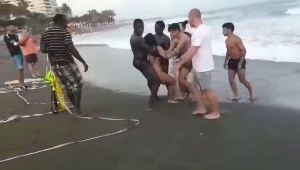 Rescate en Marbella