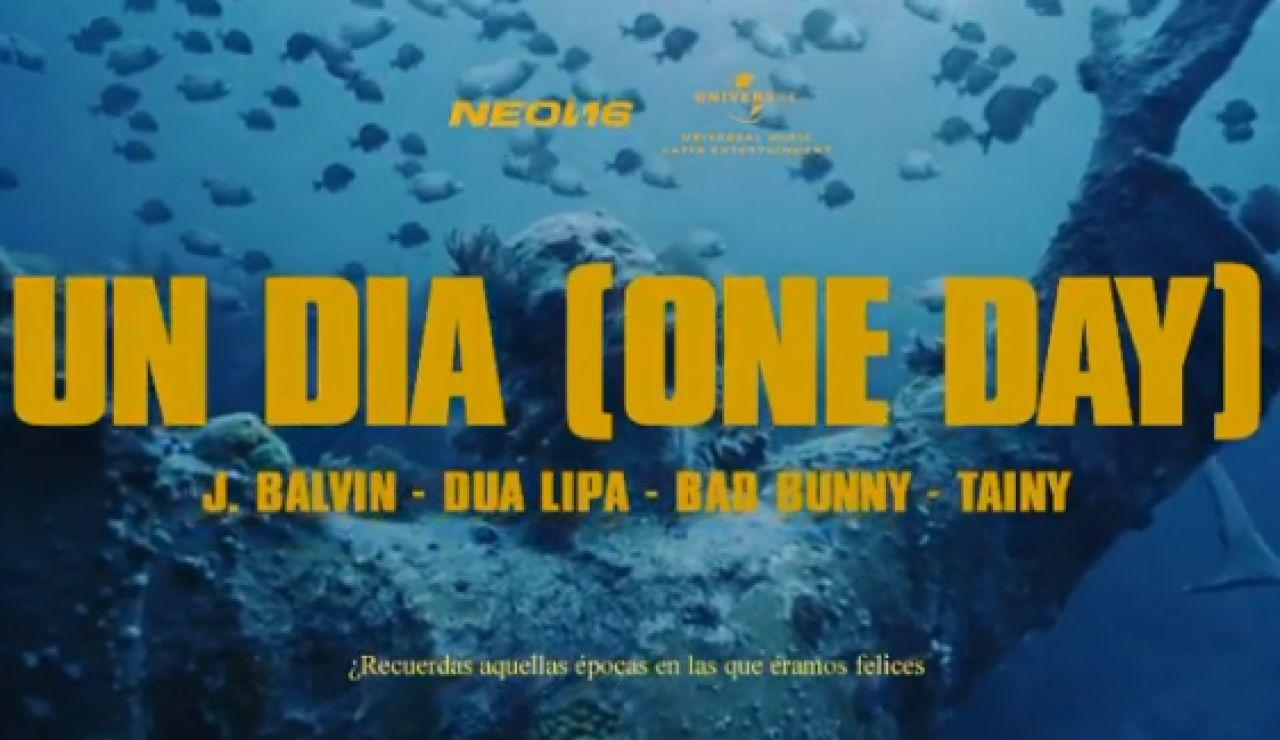 Se estrena 'One day' de J Balvin, Bad Bunny, Dua Lipa y Tainy