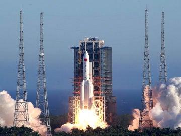 China lanza su primera mision a Marte