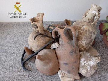 Ánforas romanas recuperadas