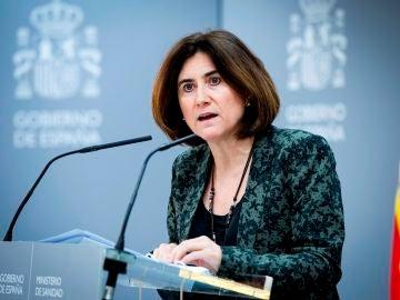 María José Sierra, jefa de área del Centro de Coordinación de Alertas y Emergencias Sanitarias