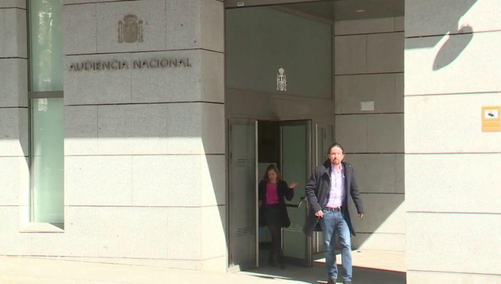 Podemos dice que el informe sobre la tarjeta del móvil de Dina Bousselham desmiente las acusaciones contra Pablo Iglesias