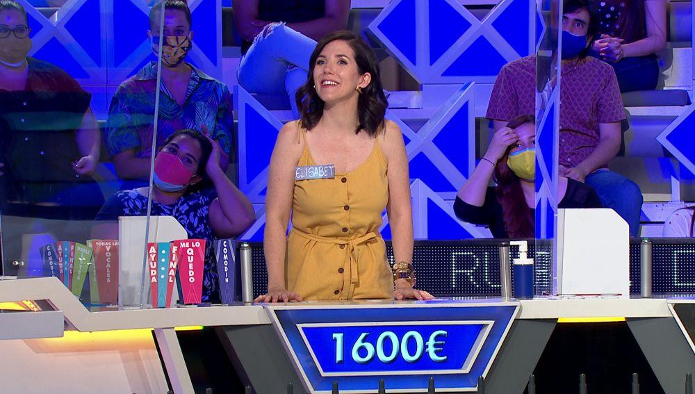 El público de 'La ruleta de la suerte' es el gran aliado de Elisabet