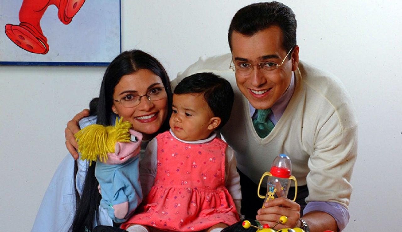 Betty y don Armando con su hija