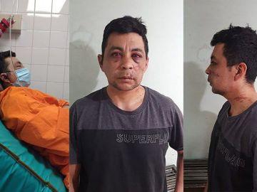 Daniel Porro, el enfermero agredido