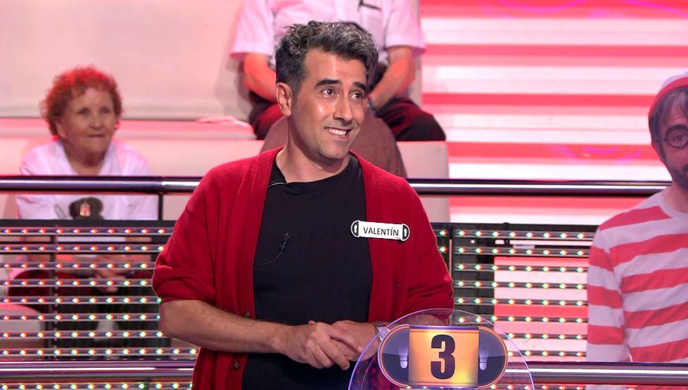 La inteligente broma de Arturo Valls a un concursante por su nombre