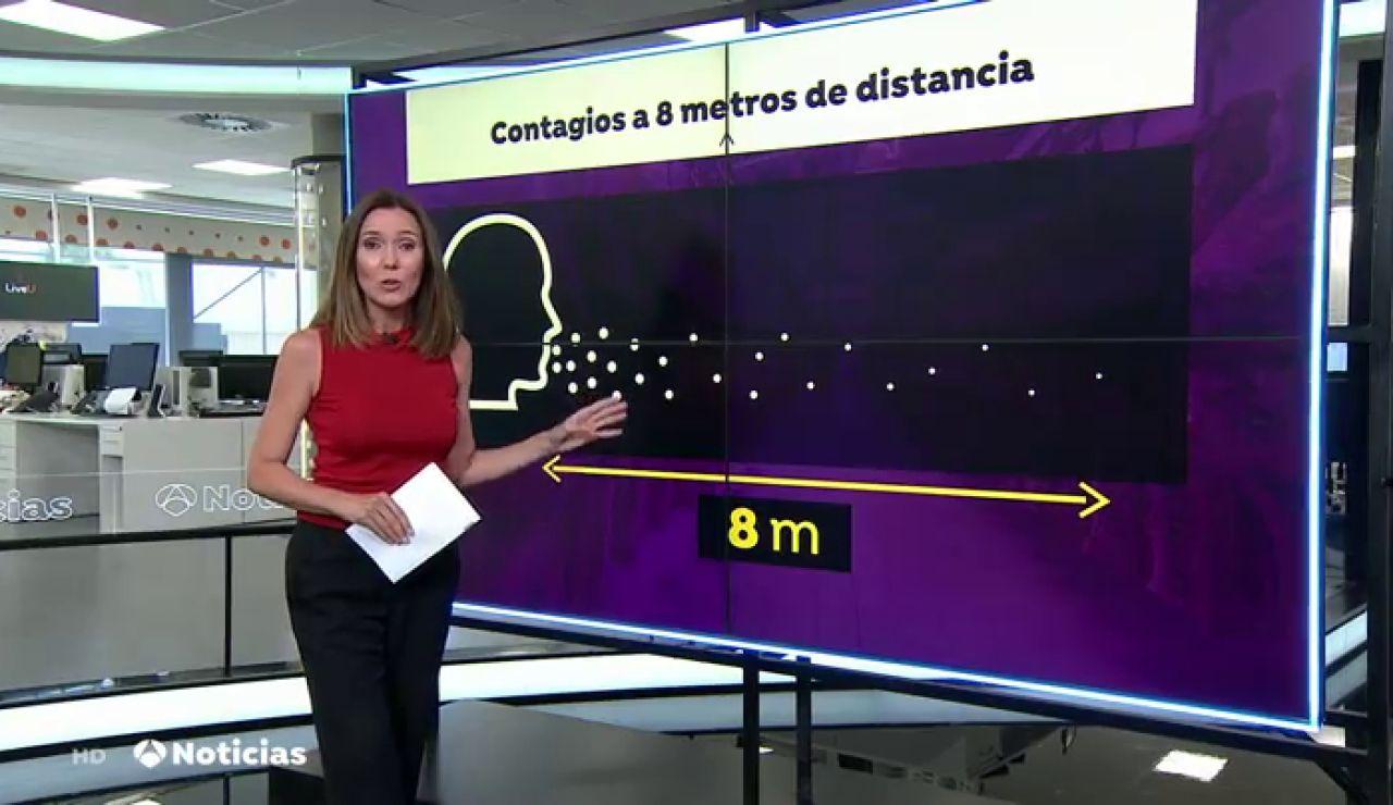 Un 'supercontagiador' que alcanzó un radio de contagio de 8 metros provocó que el rebrote de coronavirus en el matadero de Alemania se extendiese tanto
