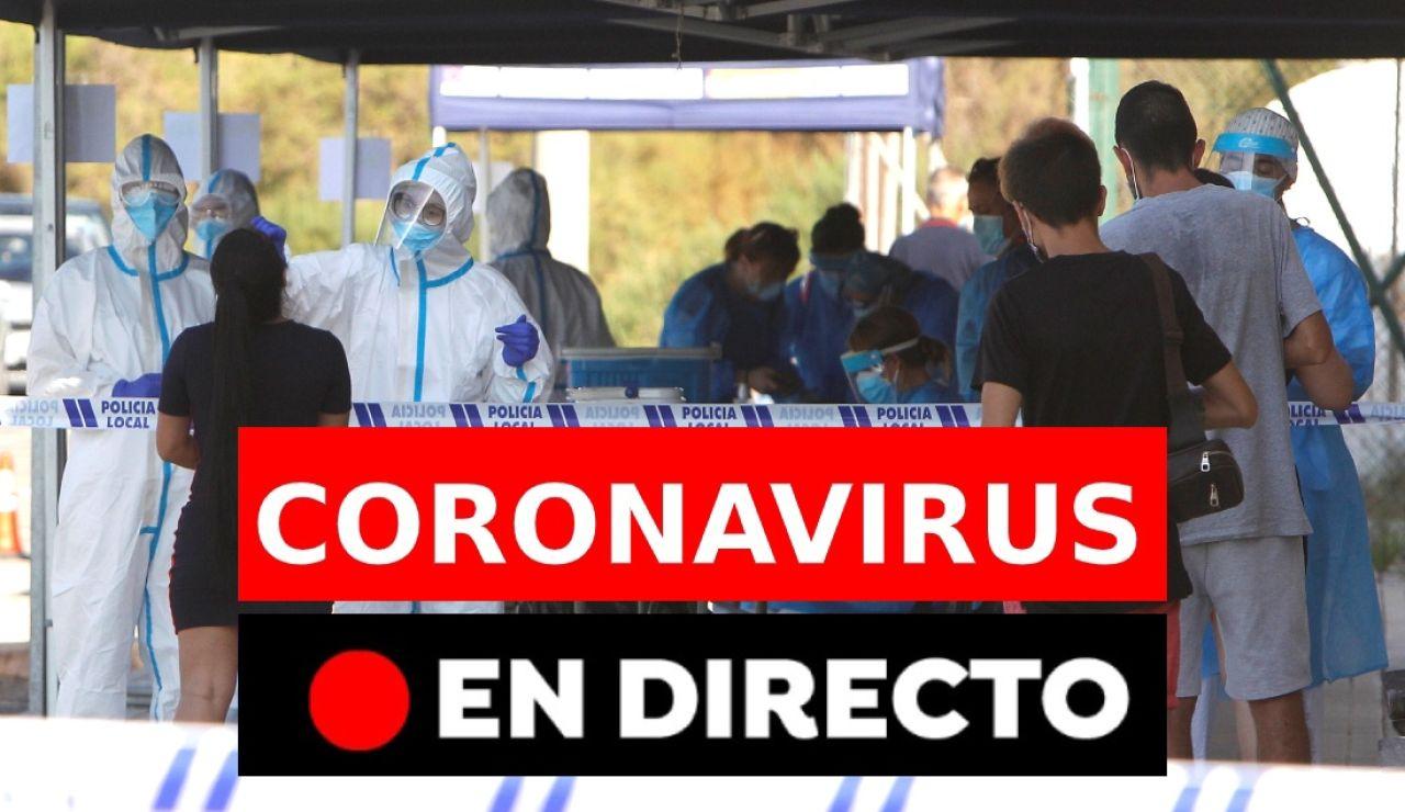 Coronavirus España: Rebrotes y última hora, en directo