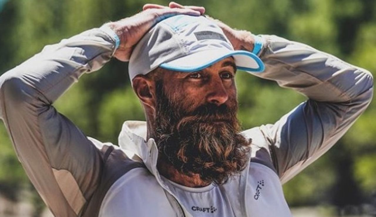 El ultrarunner Tommy Rivers en una imagen de su Instagram
