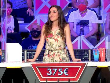 ¡Increíble! La suerte de Lucía en el panel de la letra oculta de 'La ruleta de la suerte'