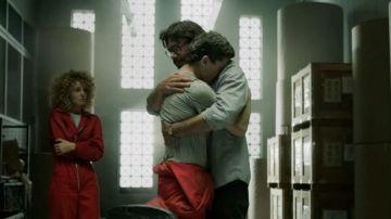 Álvaro Morte y Jaime Lorente en 'La Casa de Papel'