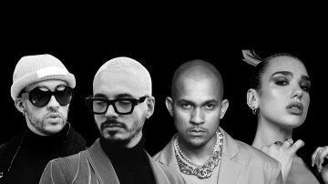 Dua lipa, Bad Bunny y J Balvin lanzan la canción 'Un día' con Úrsela Corberó como protagonista del videoclip