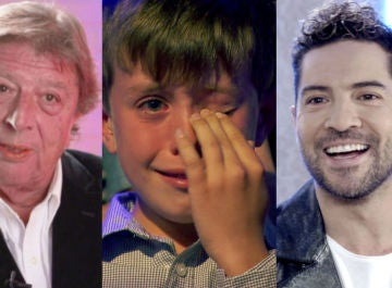 Los inolvidables momentos de los coaches y talents de 'La voz senior' entre lágrimas y emoción