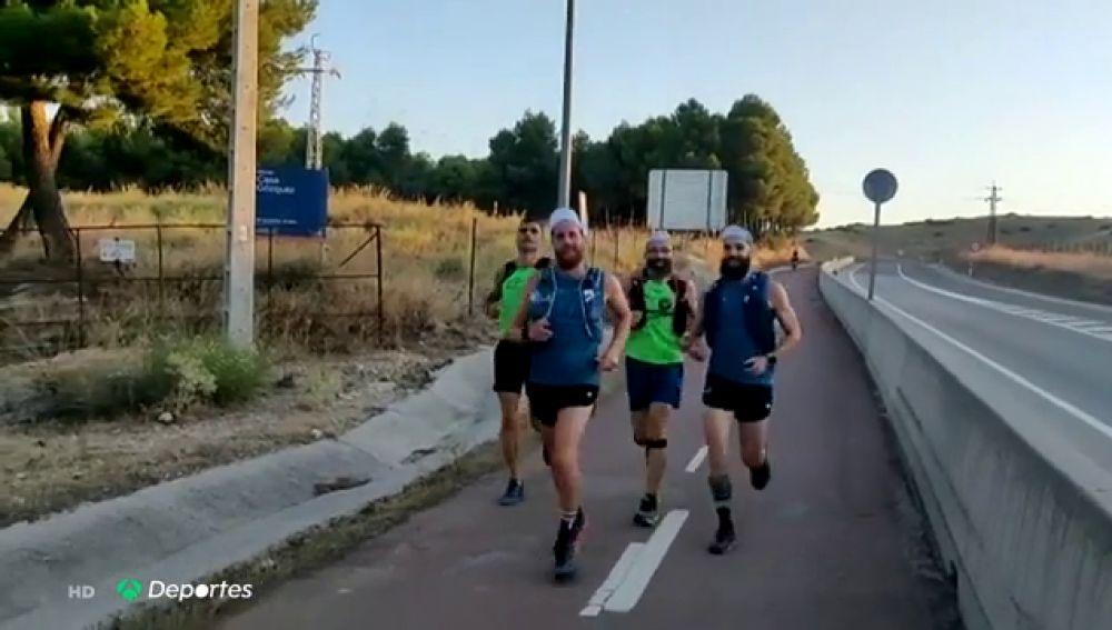 Correr diez maratones en siete días, el reto solidario para luchar contra el coronavirus