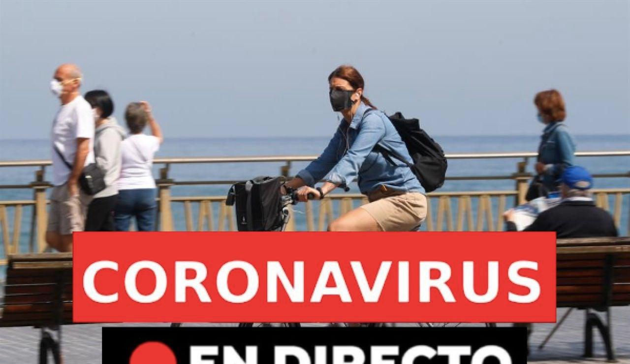 Coronavirus España hoy: rebrotes, datos y última hora hora, en directo