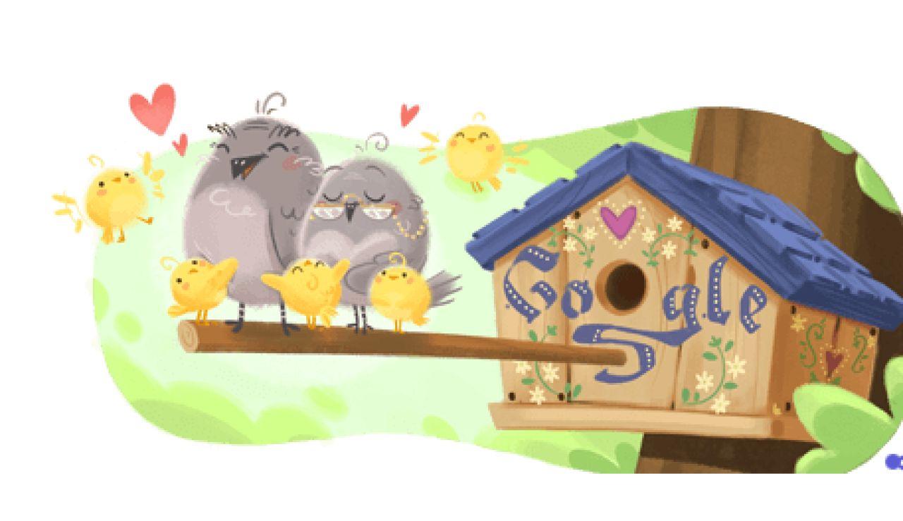 Doodle de Google por el Día de los Abuelos
