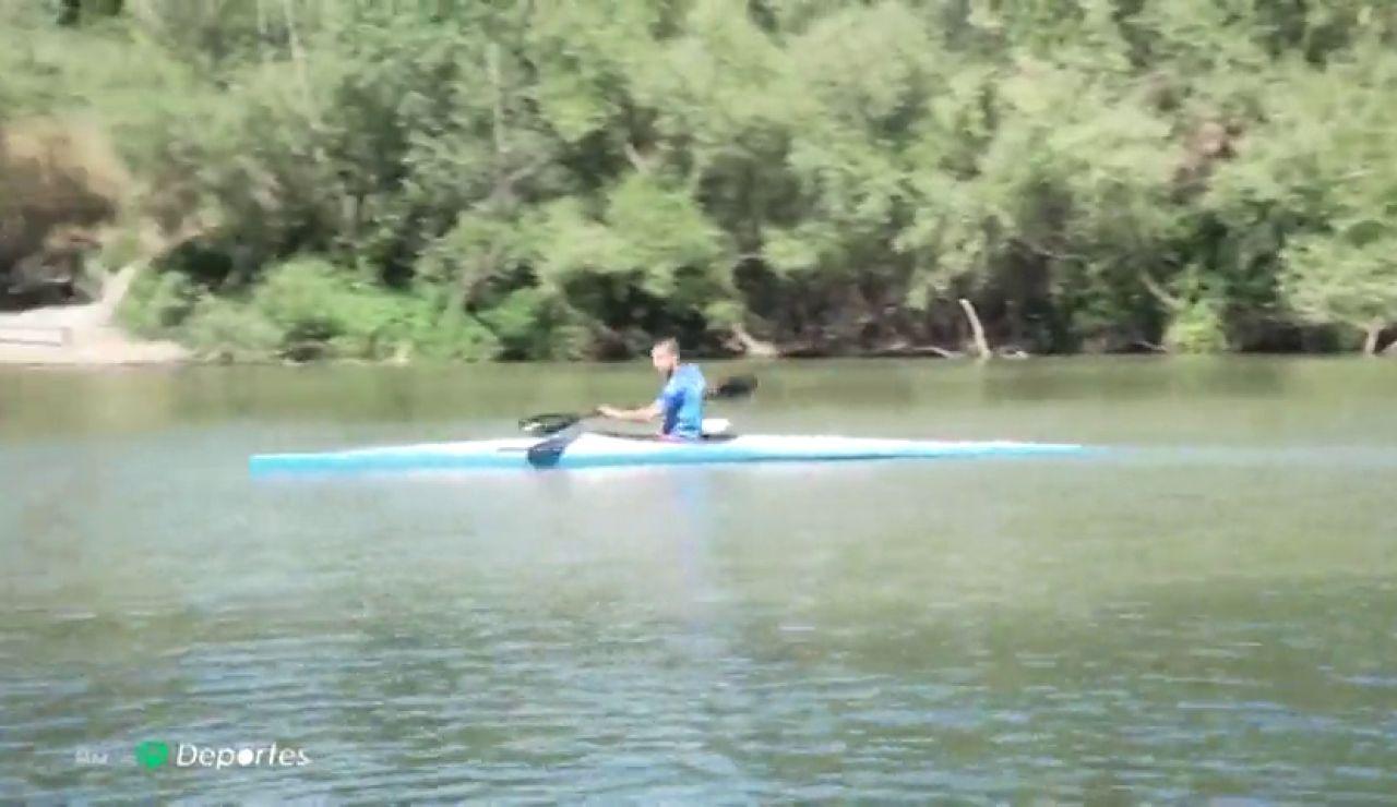 Un piragüista paralímpico salva milagrosamente de morir ahogado a un hombre en el río Pisuerga