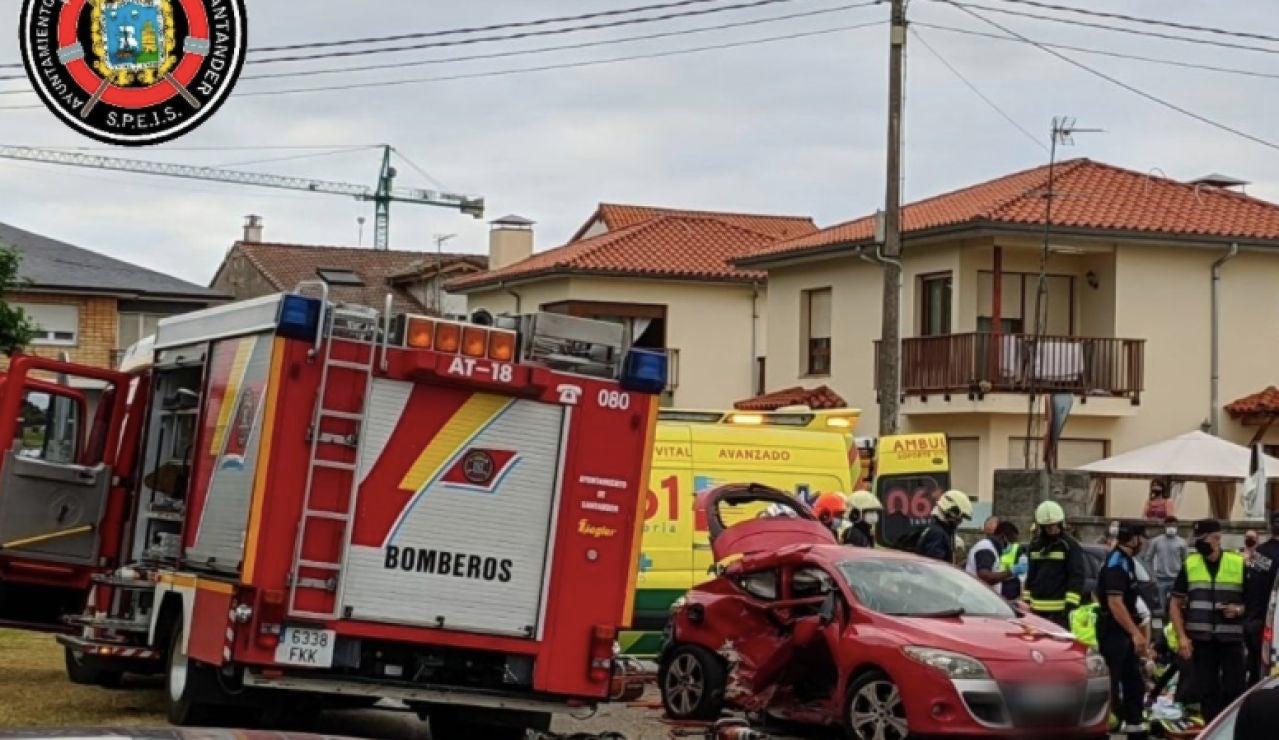 Fallece una mujer en un grave accidente en Santander