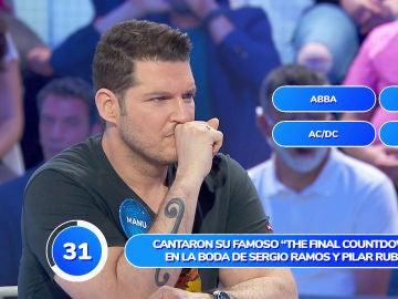 Manu Tenorio, preocupado por los puntos obtenidos tras una prueba muy musical
