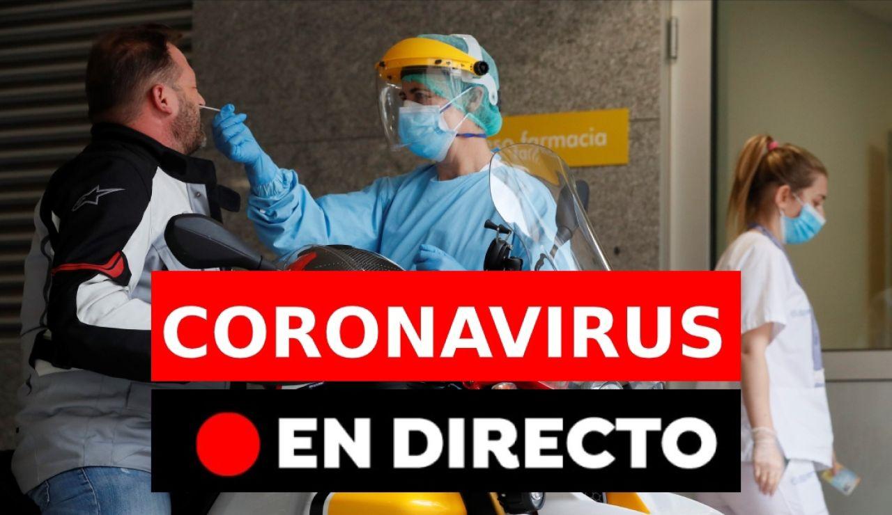 coronavirus rebrotes directo