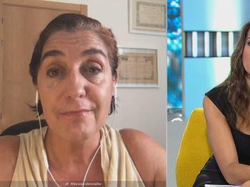 María Montoya en Espejo Público.