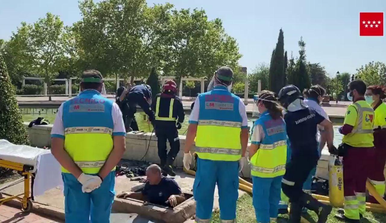 Un joven de 16 años muere ahogado en una fuente ornamental de Móstoles (Madrid)