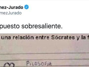 Tuit de @JuanGomezJurado