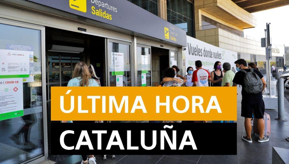 Cataluña: Última hora de los rebrotes de coronavirus y últimas noticias de hoy lunes 27 de julio, en directo