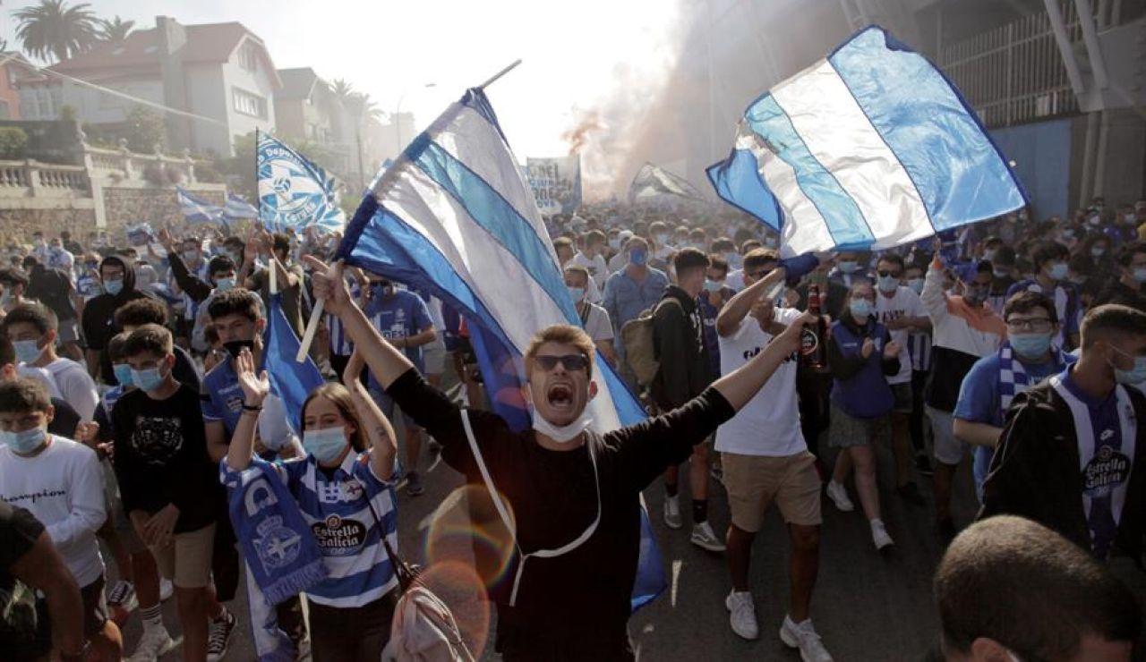 El Deportivo de la Coruña pide anular la jornada 42, suspender la temporada completa y ampliar la próxima a 26 equipos