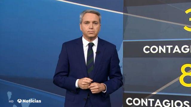 Vicente Vallés en Antena 3 Noticias 2
