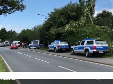 La Policía alemana registra una parcela de Hanover con excavadoras por la investigación sobre el caso de Madeleine McCann