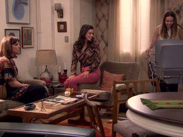 Luisita y Amelia reciben una visita inesperada