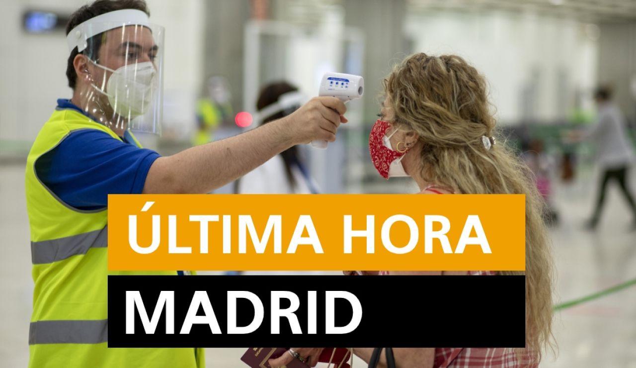 Última hora Madrid: Rebrotes y últimas noticias hoy martes 28 de julio, en directo