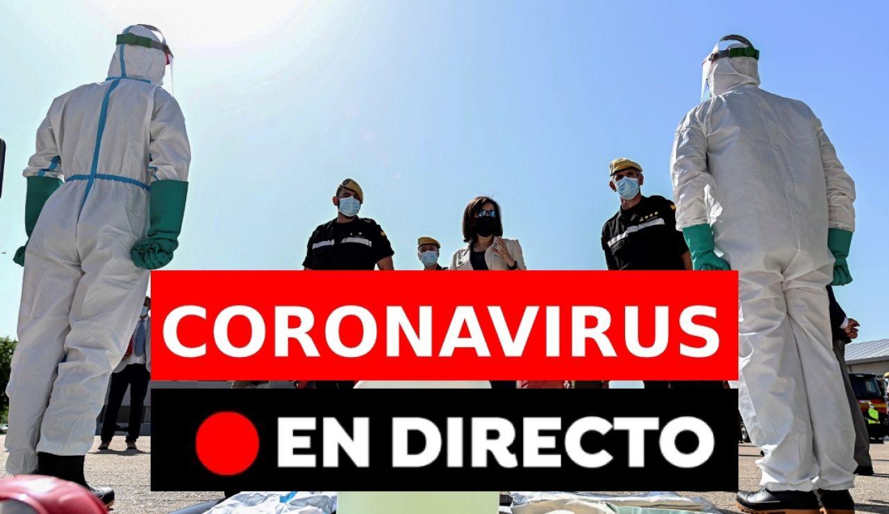 Coronavirus última hora españa rebrotes directo discover
