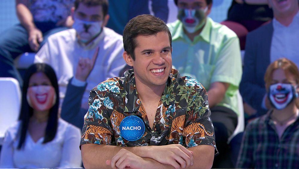 Revive los 7 mejores momentos de Nacho en 'Pasapalabra': de su primer rosco al dueto musical con Pablo