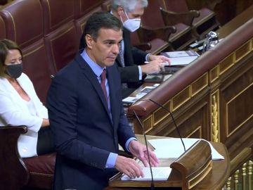 Pedro Sánchez pregunta a Santiago Abascal si no presenta la moción de censura ahora porque se va de vacaciones